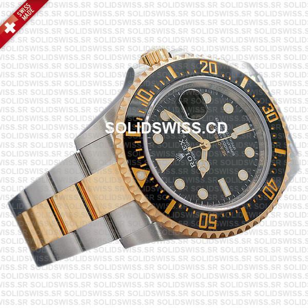 Rolex Sea-Dweller Two Tone 904L Steel Gold