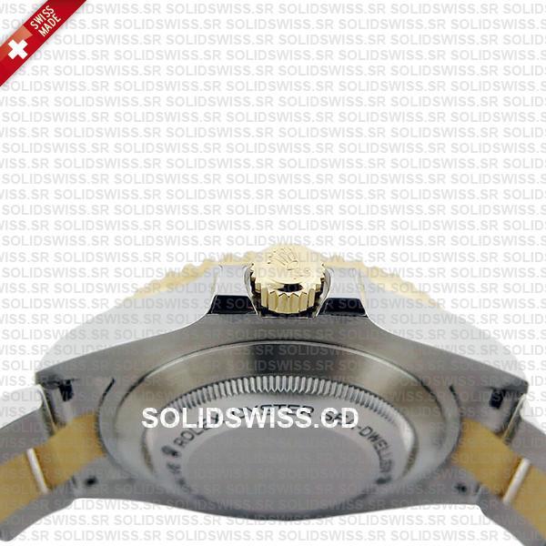 Rolex Sea-Dweller Deepsea Two Tone in 904L Steel Replica Watch