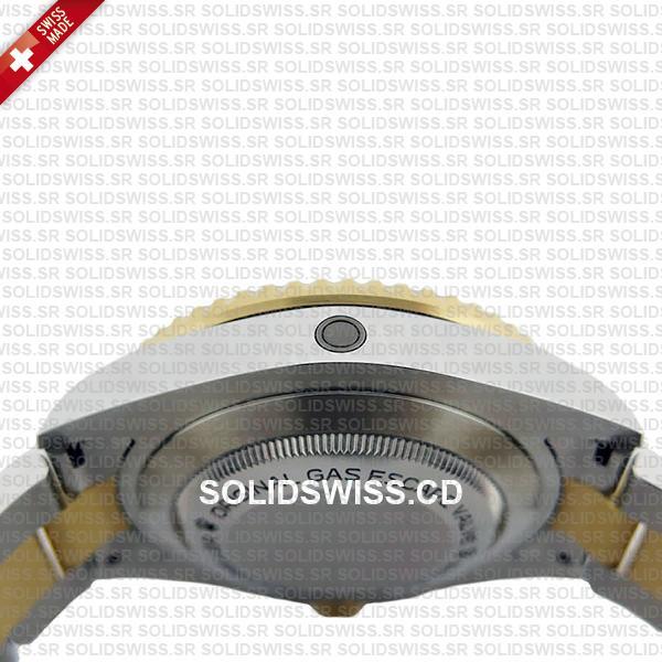Rolex Sea-Dweller Deepsea Two Tone in 904L Steel Watch