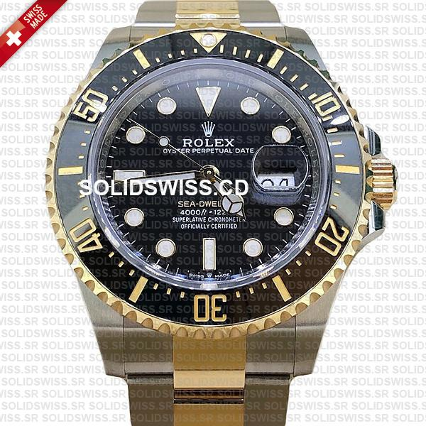 Rolex Sea-Dweller Two Tone 18k Yellow Gold Stainless steel