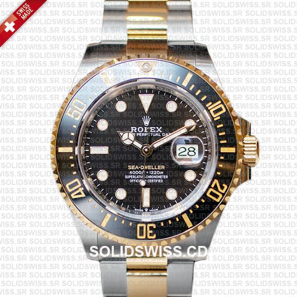 Rolex Sea-Dweller Deepsea Two Tone