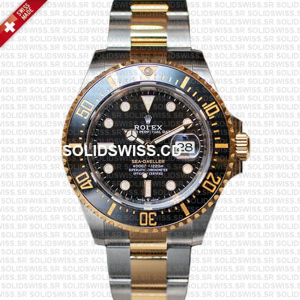 Rolex Sea-Dweller Two Tone Black Dial