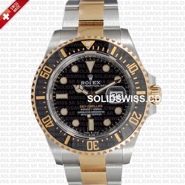 Rolex Sea-Dweller Gold Two Tone 904L Steel 43mm