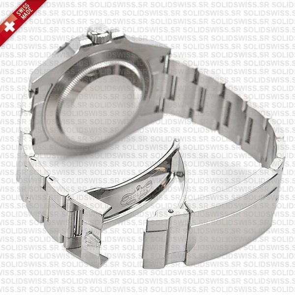 Rolex Submariner No Date black dial with ceramic bezel