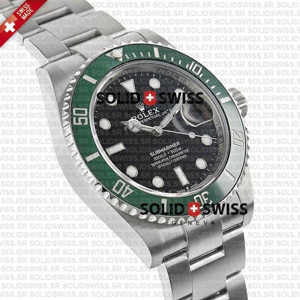 Rolex Submariner Green Ceramic Bezel