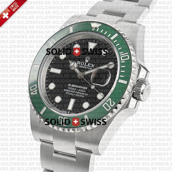 Rolex Submariner Green Ceramic Bezel 41mm