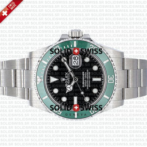 Rolex Submariner Kermit green ceramic bezel
