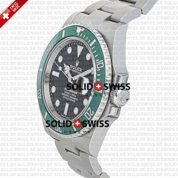 Rolex Submariner green ceramic 41mm