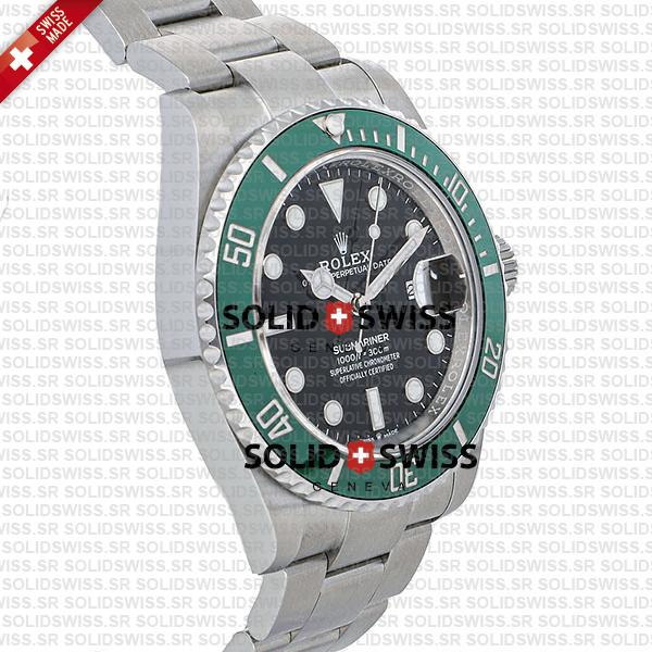 Rolex Submariner green ceramic bezel 41mm 126610LV