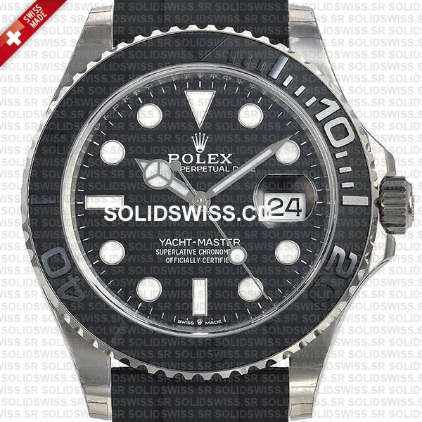 Rolex Yacht-Master White Gold Black Dial