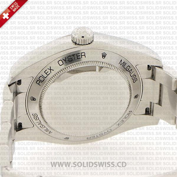Rolex Milgauss Oyster Perpetual Stainless Steel Oyster Bracelet