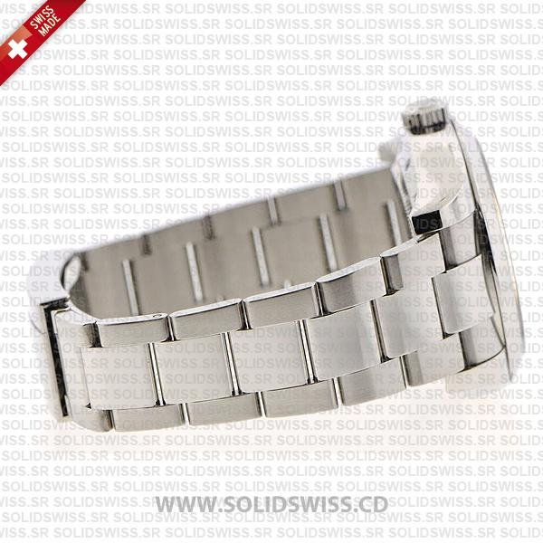 Rolex Milgauss Stainless Steel White Dial 40mm