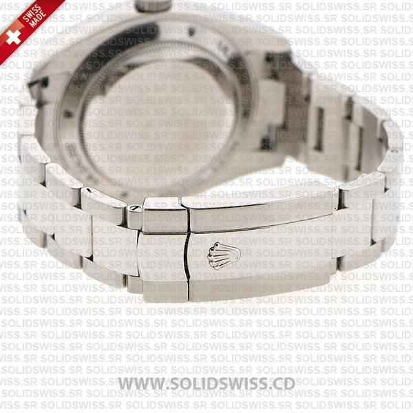 Rolex Milgauss Stainless Steel Black Dial 904L Steel Oyster Bracelet