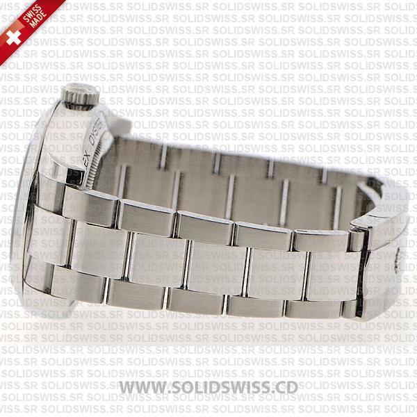 Rolex Milgauss Stainless Steel White Dial