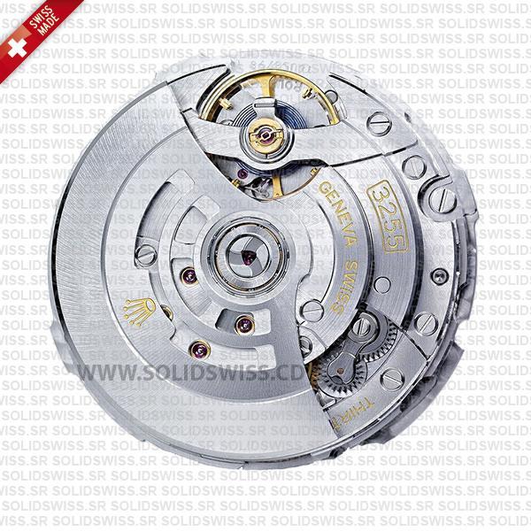 Rolex 3255 Swiss Clone Movement by Solidswiss.cd