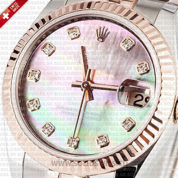 Rolex Datejust Two-Tone Rose Gold Jubilee Replica