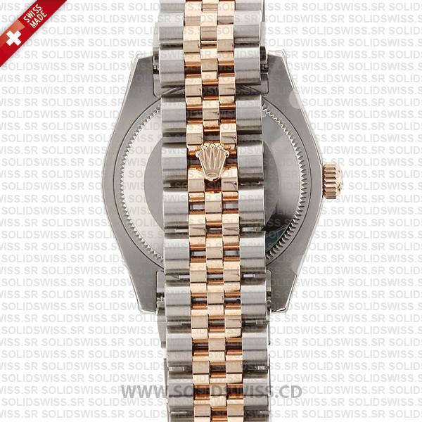 Rolex Datejust 31mm Mother Of Pearl 18k Rose Gold Jubilee Bracelet