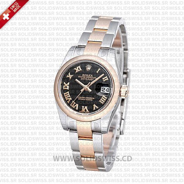 Rolex Datejust 31mm Two-Tone Oyster Bracelet Replica Watch