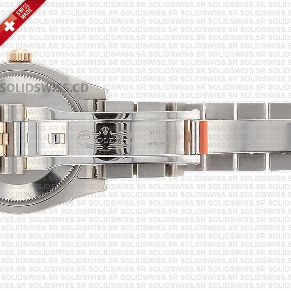 Rolex Datejust 31mm Jubilee 18k Rose Gold 2-Tone Swiss Replica