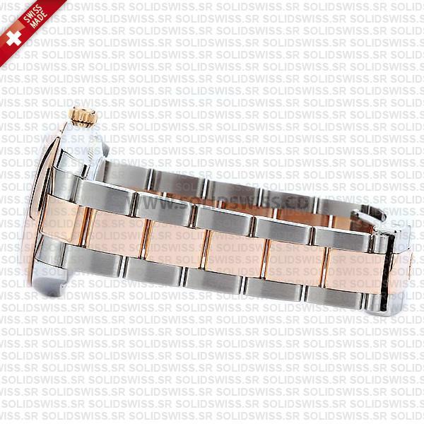 Rolex Lady-Datejust 31mm 18k Rose Gold Oyster Bracelet Watch