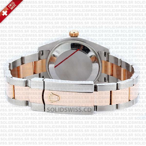 Rolex Lady-Datejust 31mm 18k Rose Gold Swiss Replica Watch