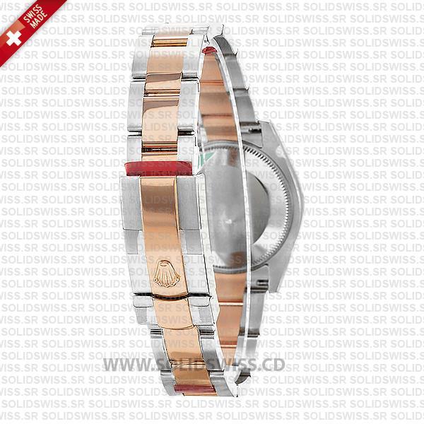 Rolex Lady-Datejust 31mm 18k Rose Gold Oyster Bracelet Replica Watch