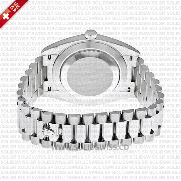 Rolex Day-Date 40 Platinum Stainless Steel