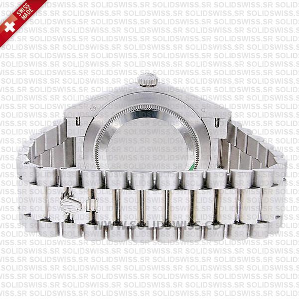 Rolex Day-Date 40 Platinum Smooth Bezel