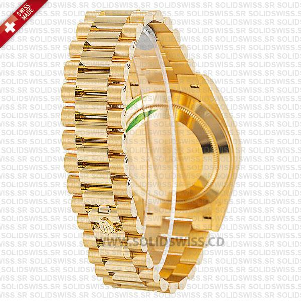 Rolex Day-Date 40mm 18k Yellow Gold President Bracelet Watch