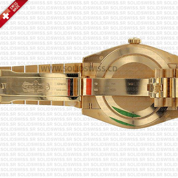 Rolex Day-Date 40mm 18k Yellow Gold President Bracelet