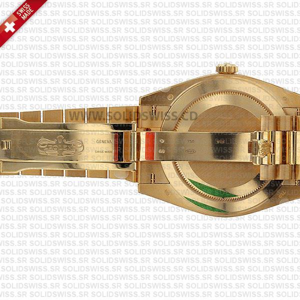 Rolex Day-Date 40mm 18k Yellow Gold President Bracelet