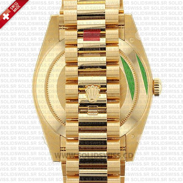 Rolex Oyster Perpetual Day-Date Gold Roman Dial
