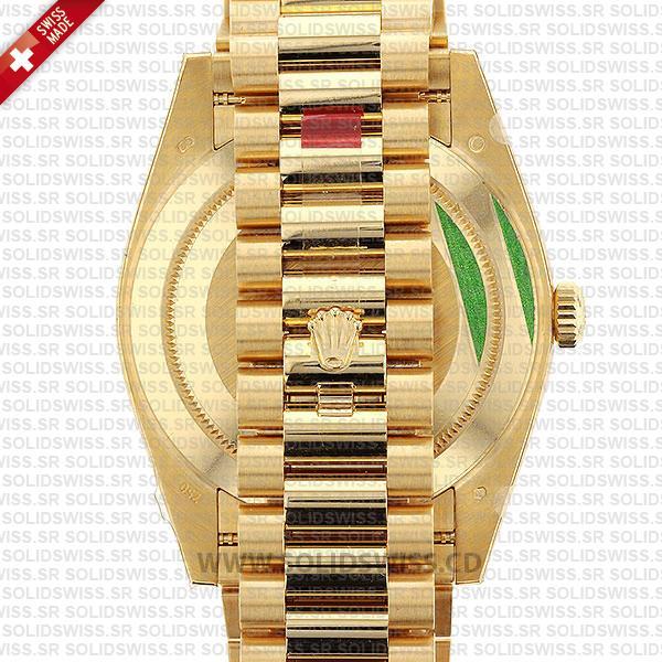 Rolex Day-Date 40mm 18k Yellow Gold President Bracelet Replica Watch
