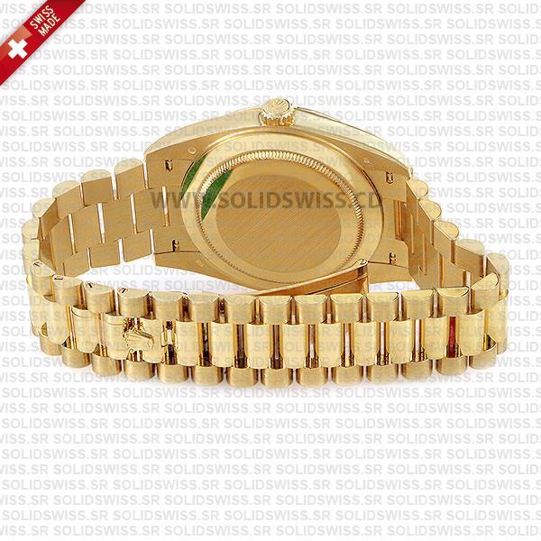 Rolex Day-Date 40 Yellow Gold Roman Dial Replica Watch
