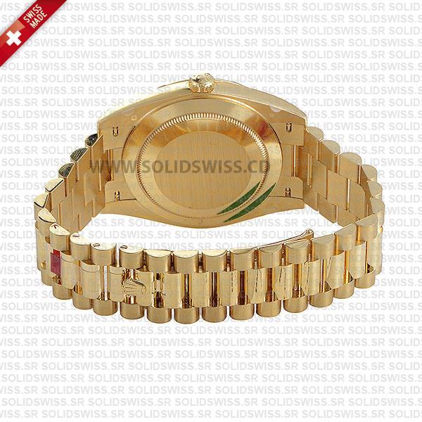 Swiss Replica Rolex Day-Date 40 18k Yellow Gold 40mm 228238