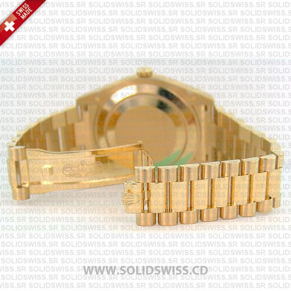 Rolex Oyster Perpetual Day-Date II 18k Yellow Gold