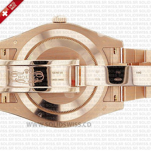 ROLEX DAY-DATE II ROSE GOLD ROMAN 41mm