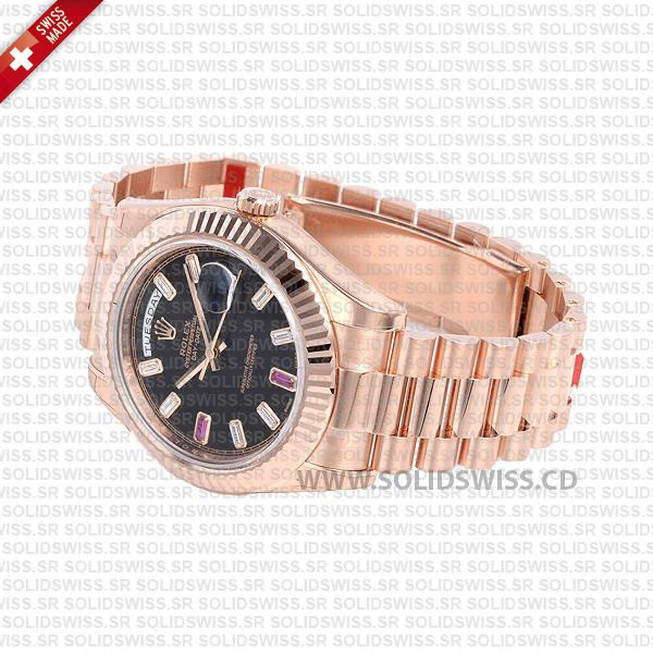 ROLEX-DAY-DATE-II-ROSE-GOLD-BLACK-RUBY-41mm