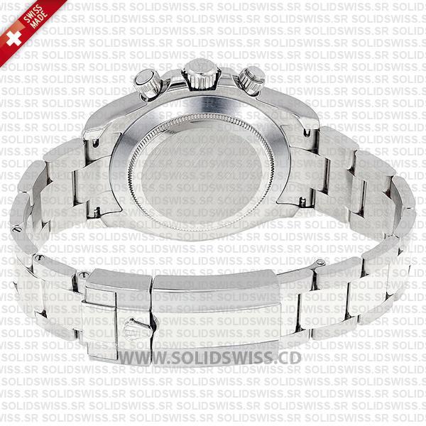 Rolex Daytona Stainless Steel Oysterlock safety clasp