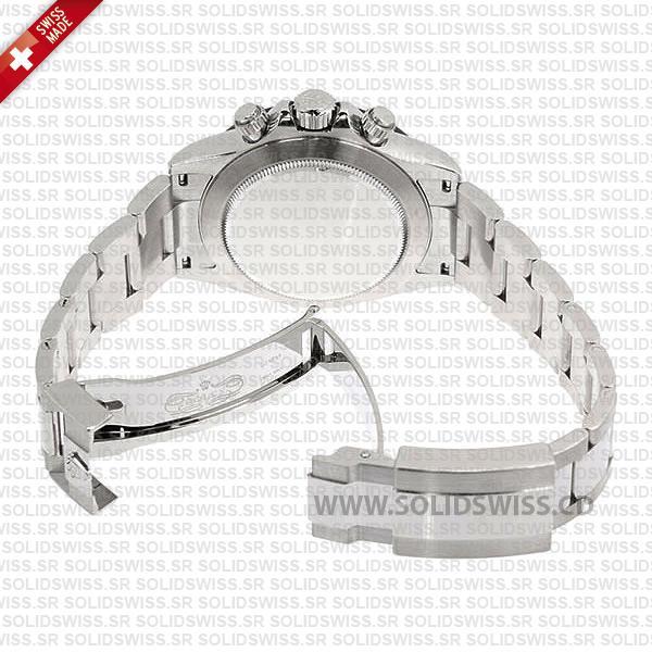 Rolex Daytona 2016 Black Dial Ceramic Bezel Oyster Bracelet Replica Watch