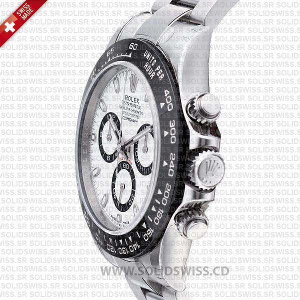 Rolex Daytona 2016 Stainless Steel White Dial