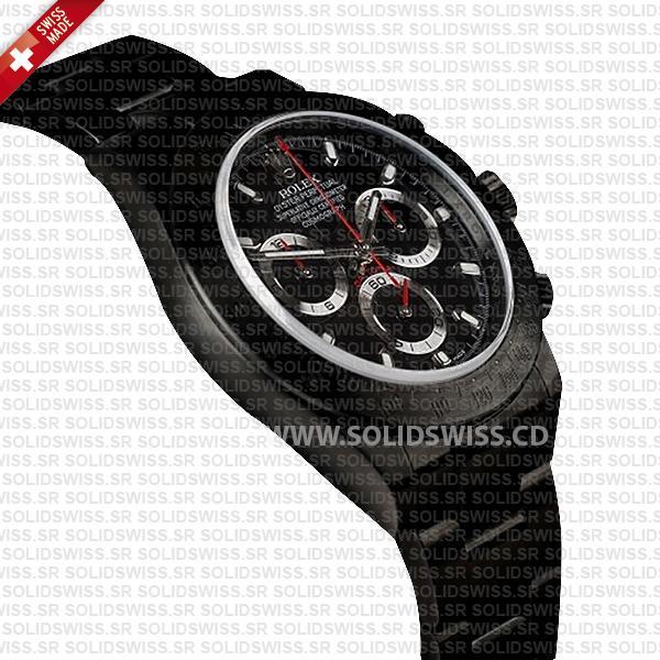 Rolex Daytona DLC Black Swiss Replica