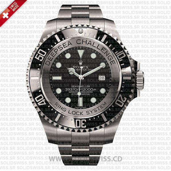 Rolex Deepsea Challenge SS Black Dial | Swiss Replica Watch