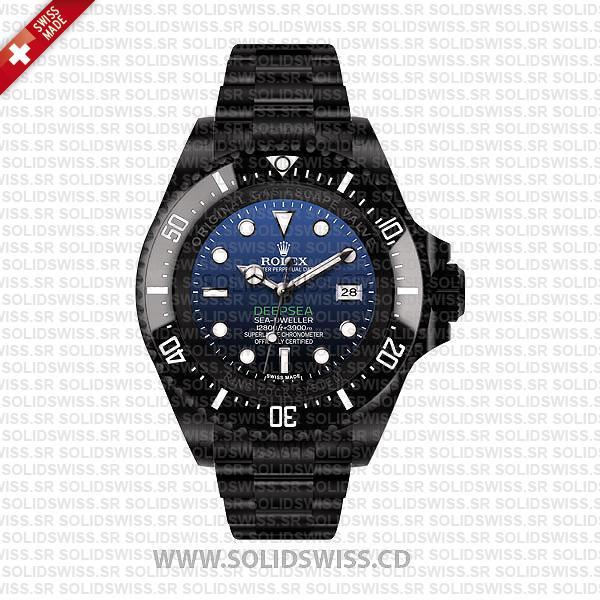 Rolex Sea-Dweller Deepsea PVD/DLC Coated