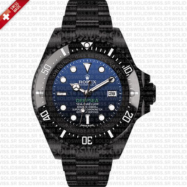 Rolex Deepsea Black DLC PVD Coating | Sea-Dweller Replica