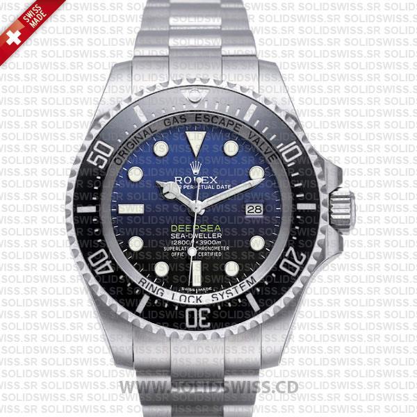 Rolex Sea-Dweller Deepsea D-Blue Dial 44mm   Replica Watch