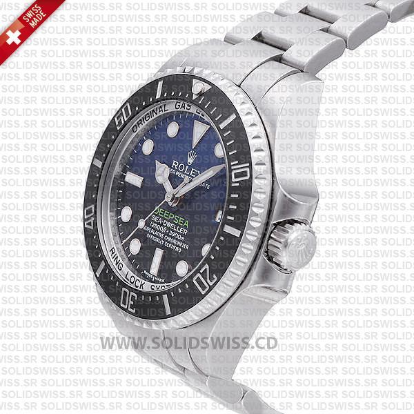 Rolex Sea-Dweller Deepsea D-Blue Dial 44mm   Swiss Replica Watch