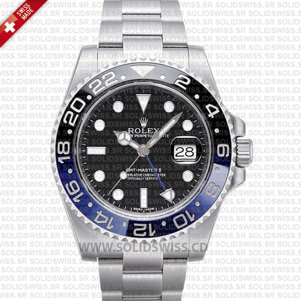 Rolex GMT-Master II SS Blue Black Ceramic