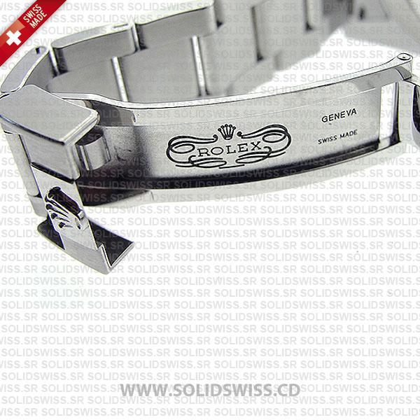 Rolex GMT-Master II Pepsi Red Blue Ceramic Bezel White Gold Oyster Bracelet