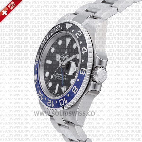 Rolex GMT-Master II SS Blue Black Ceramic 40mm 116710